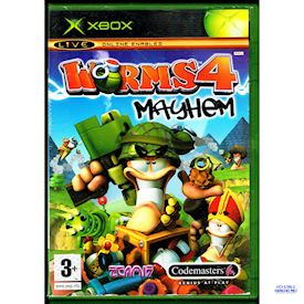 WORMS 4 MAYHEM XBOX