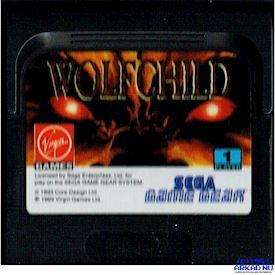 WOLFCHILD GAME GEAR