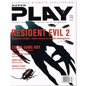 SUPER PLAY APRIL 1998