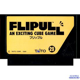 FLIPULL AN EXCITING CUBE GAME FAMICOM