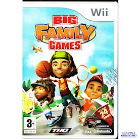 BIG FAMILY GAMES WII