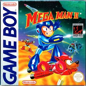 MEGA MAN 2 GAMEBOY SCN