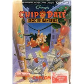 CHIP N DALE RESCUE RANGERS NES SCN