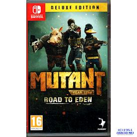 MUTANT YEAR ZERO ROAD TO EDEN DELUXE EDITION SWITCH