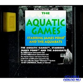 AQUATIC GAMES STARRING JAMES POND AND THE AQUABATS MEGADRIVE