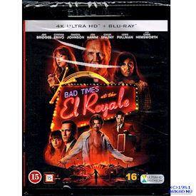BAD TIMES AT THE EL ROYAL 4K ULTRA HD + BLU-RAY
