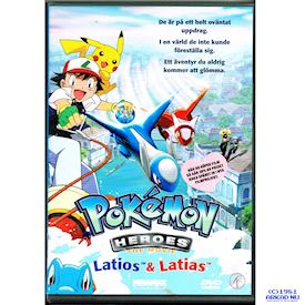 POKEMON HEROES LATIOS & LATIAS DVD