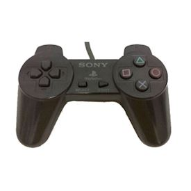 PLAYSTATION CONTROLL PAD PS1 SVART