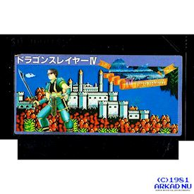 DRAGON SLAYER IV (LEGACY OF THE WIZARD) FAMICOM