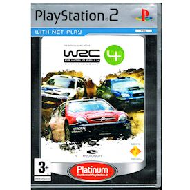 WRC 4 FIA WORLD RALLY CHAMPIONSHIP PS2