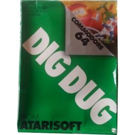 DIG DUG C64 Cartridge