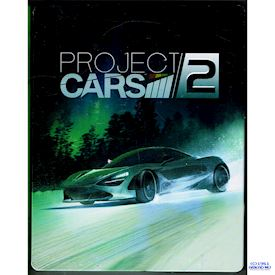 PROJECT CARS 2 PS4 STEEL BOOK