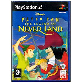 DISNEY'S PETER PAN THE LEGEND OF NEVER LAND PS2