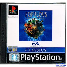 POPULOUS THE BEGINNING PS1