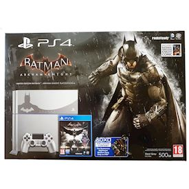 PLAYSTATION 4 500GB BATMAN ARKHAM KNIGHT LIMITED EDITION BUNDLE