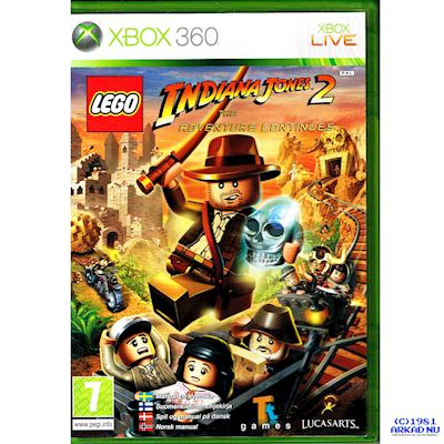 LEGO INDIANA JONES 2 THE ADVENTURE CONTINUES XBOX 360