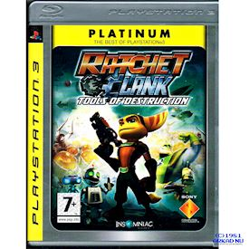 RATCHET AND CLANK TOOLS OF DESTRUCTION PS3 PLATINUM