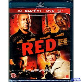 RED BLU-RAY + DVD