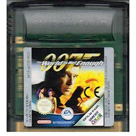 007 THE WORLD IS NOT ENOUGH GAMEBOY COLOR