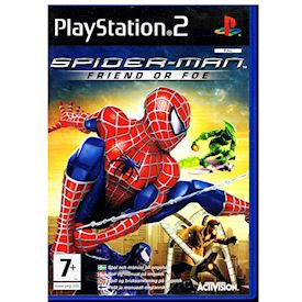 SPIDER-MAN FRIEND OR FOE PS2