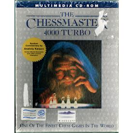 CHESSMASTER 4000 TURBO PC BIGBOX