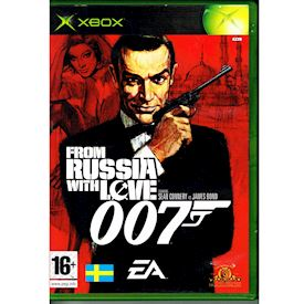 FROM RUSSIA WITH LOVE 007 XBOX