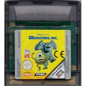 MONSTERS INC GAMEBOY COLOR