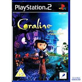 CORALINE AN ADVENTURE TOO WEIRD FOR WORDS PS2