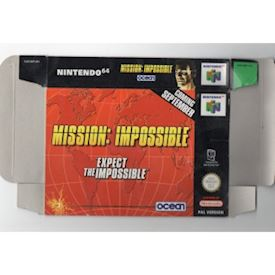 MISSION IMPOSSIBLE N64 REKLAM BOX OUPPVIKT