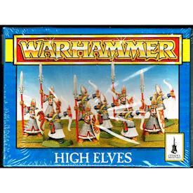 HIGH ELVES WARHAMMER GAMES WORKSHOP 1994