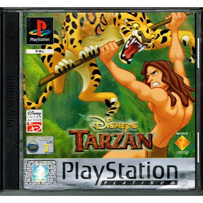 DISNEYS TARZAN PS1