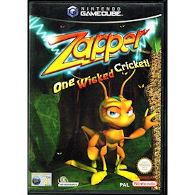 ZAPPER ONE WICKED CRICKET GAMECUBE