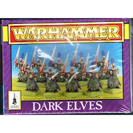 DARK ELVES WARHAMMER GAMES WORKSHOP 1994
