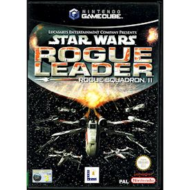STAR WARS ROGUE SQUADRON II ROGUE LEADER GAMECUBE