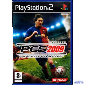 PRO EVOLUTION SOCCER PES 2009 PS2