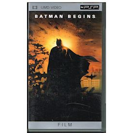 BATMAN BEGINS UMD FILM