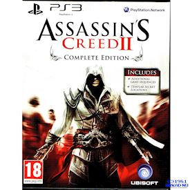 ASSASSINS CREED II COMPLETE EDITION PS3