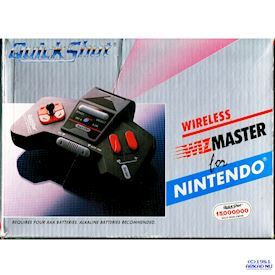 QUICKSHOT WIRELESS WIZMASTER NES