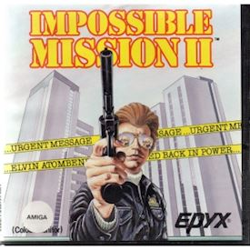 IMPOSSIBLE MISSION II AMIGA