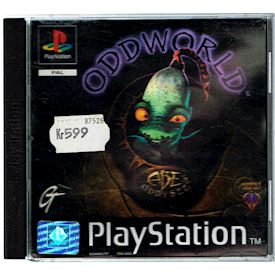ODDWORLD ABES ODDYSEE PS1