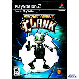 SECRET AGENT CLANK PS2 USA