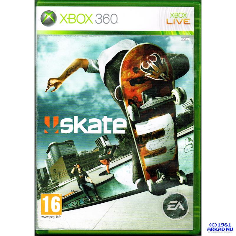 63bc63e2a SKATE 3 XBOX 360 - Have you played a classic today?
