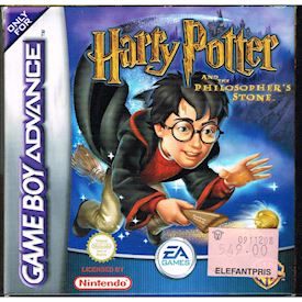 HARRY POTTER AND THE PHILOSOPHERS STONE GBA