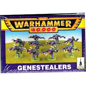 GENESTEALERS WARHAMMER 40000 GAMES WORKSHOP 1995
