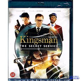 KINGSMAN THE SECRET SERVICE BLU-RAY