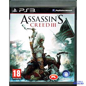 ASSASSINS CREED III PS3 POLSK TEXT
