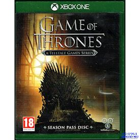 GAME OF THRONES A TELLTALE GAME SERIES XBOX ONE