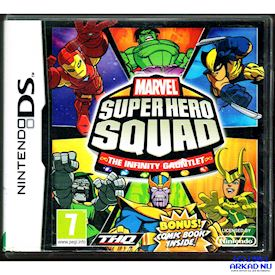 MARVEL SUPER HERO SQUAD THE INFINITY GAUNTLET DS