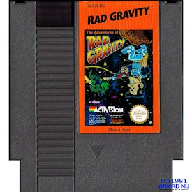 THE ADVENTURE OF RAD GRAVITY NES