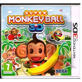 SUPER MONKEY BALL 3D 3DS